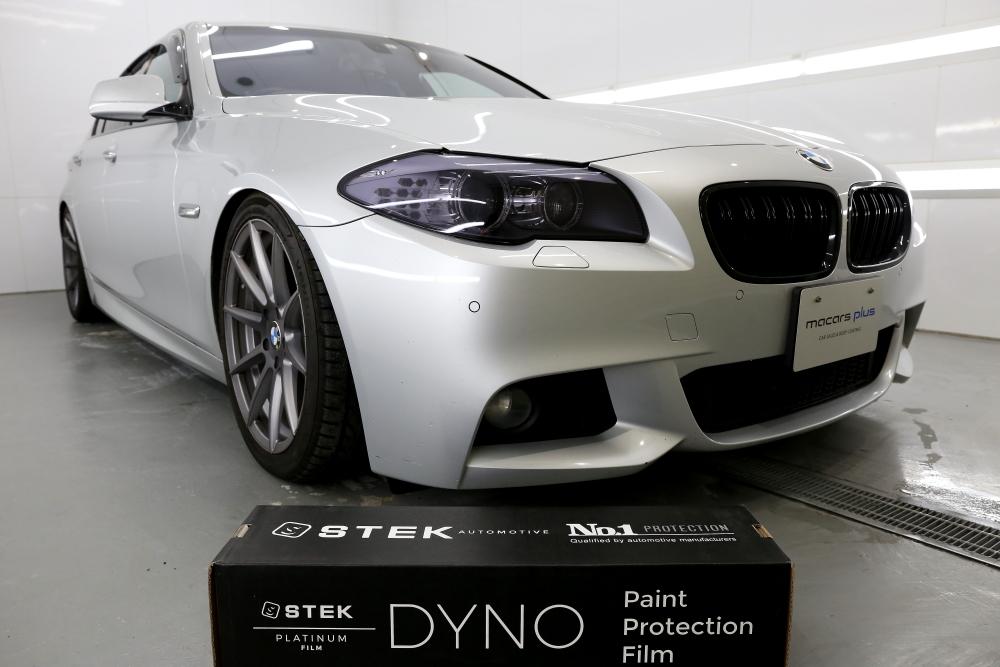 BMW F10/523 & STEK DYNOshade ヘッドライトプロテクションフィルム施工!!