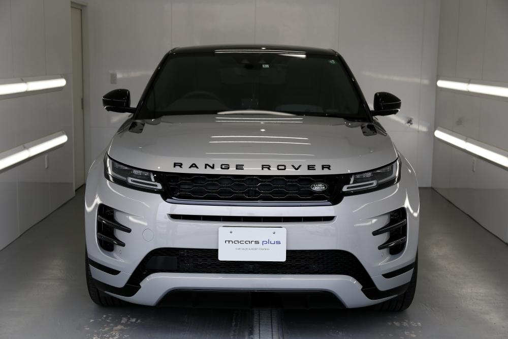 RANGE ROVER EVOQUE & STEK DYNOshade ヘッドライトプロテクションフィルム施工!!