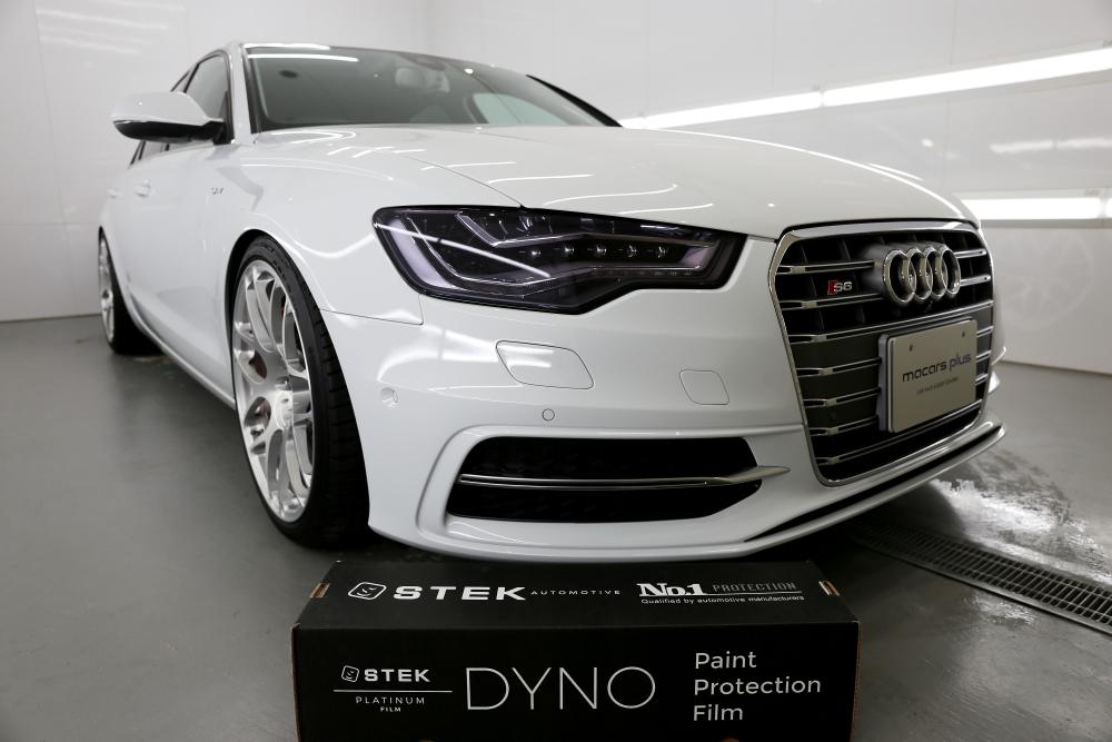 Audi A6/4G hybrid & STEK DYNOshadeヘッドライトプロテクションフィルム施工!!