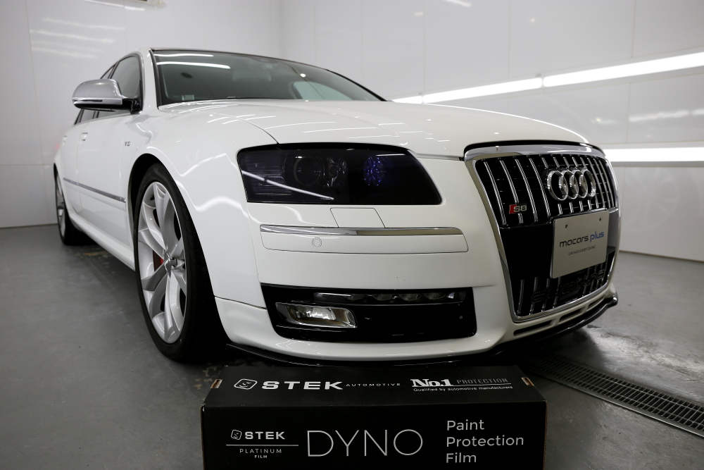 Audi S8/V10 & STEK DYNOshade+祝納車!!