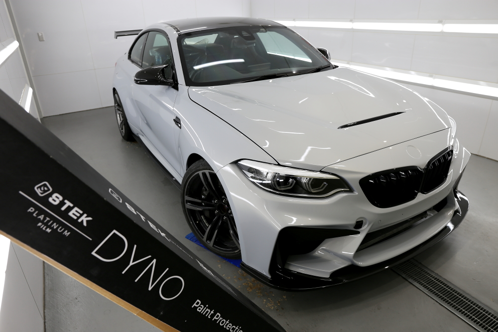 BMW F87/M2Competition & STEK DYNOshield Front Full Cover施工!!