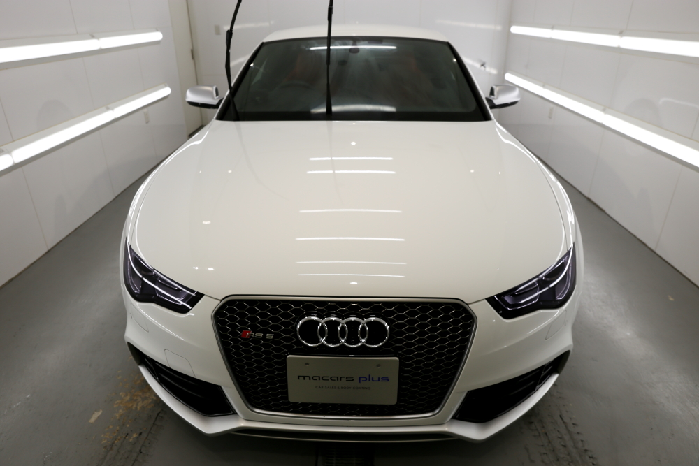 Audi RS5/B8.5 Coupe  & MP Plus Glass Coating施工!!
