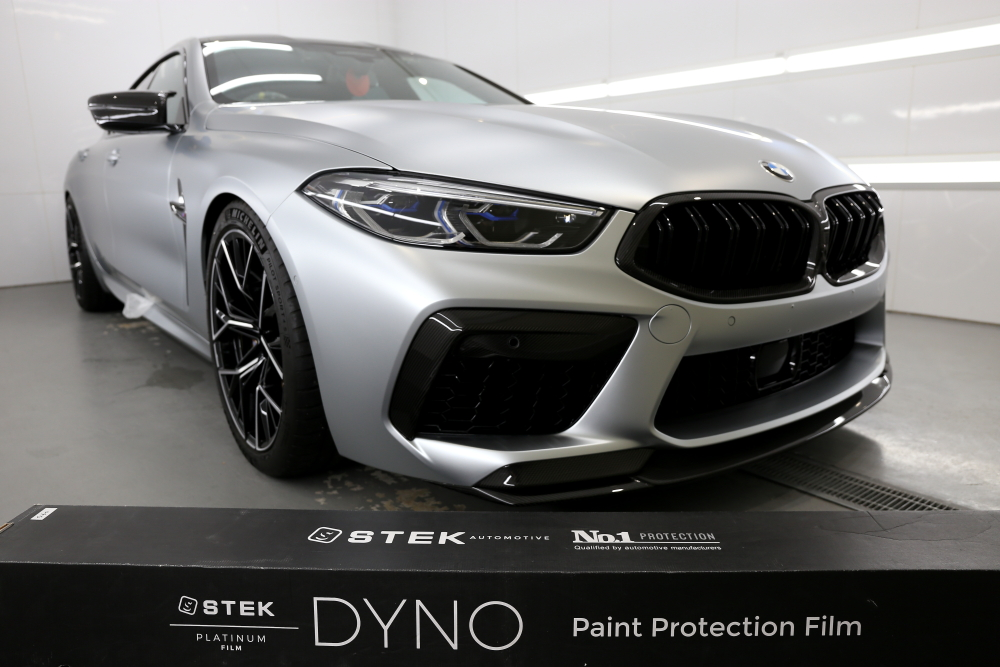 BMW M8/GC Competition & STEK DYNOshield CarbonParts full wrap Install!!