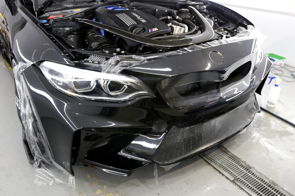 BMW F87N/M2 Competition & STEK DYNOshield+DYNOmatte!!