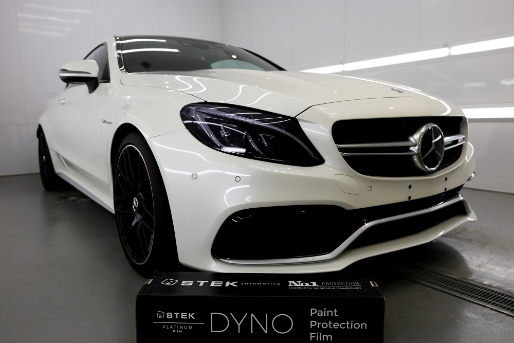 M-BENZ W205/C63S Coupe & STEK DYNOblack-gloss+DYNOshade!!
