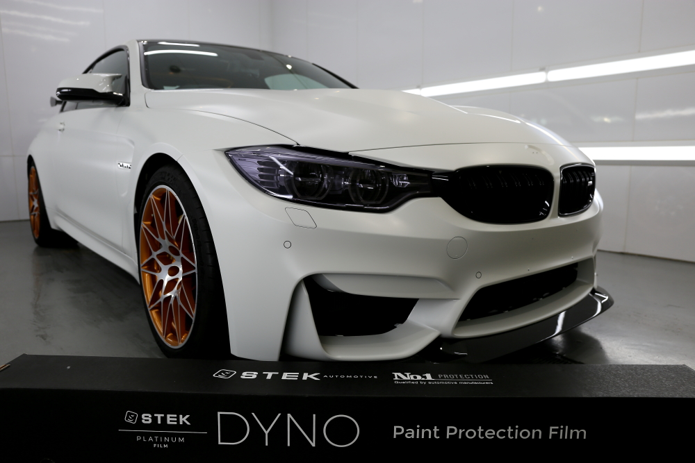 BMW F82/M4 GTS & STEK DYNOmatte Body Full Wrapping Install施工!!