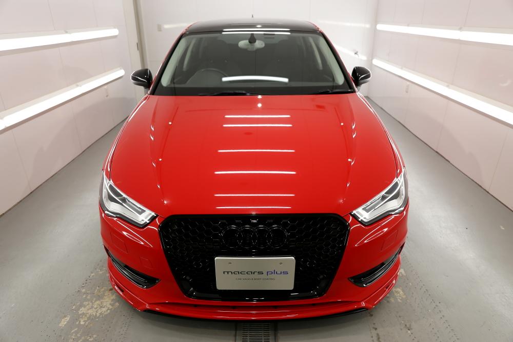 Audi A3/8V & アライメント調整+祝納車!!