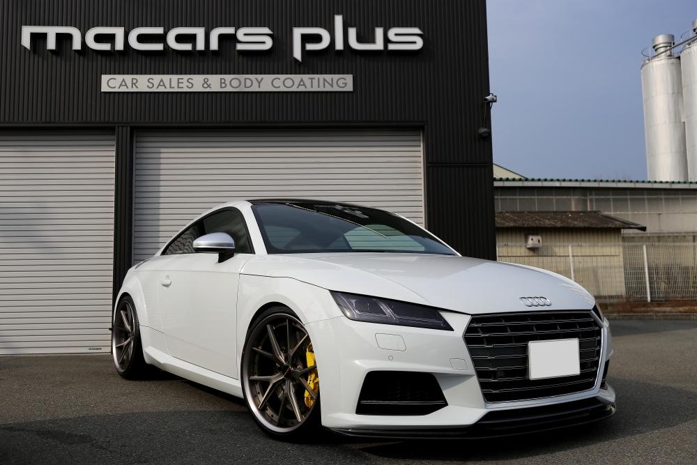 Audi TTS/8S & 祝納車!!