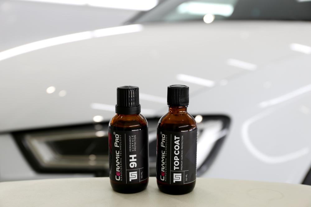 Audi RS3/8V Sedan & CERAMIC PRO 9H+TOPCOAT+メンテンス施工!!