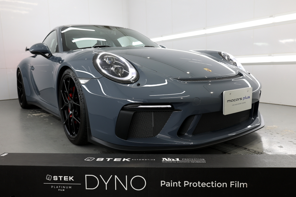 Porsche991.2/GT3 & STEK DYNOshield Body Full Wrapping install+DYNOblack-carbon-gloss+DYNOwindshield!!