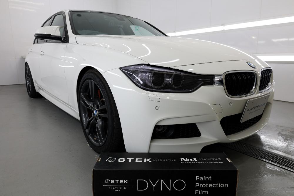 BMW F30/320ⅾ M-sport & STEK DYNOshade+DYNOblack-gloss!!