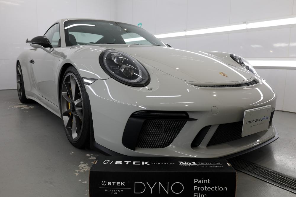 Porsche 991.2/GT3 & STEK+ボディメンテナンス施工+レザーコーティング+樹脂コーティング+祝納車!!