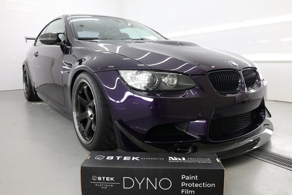 BMW E92/M3 & STEK DYNOpurple+DYNOshield+DYNOshade施工!!