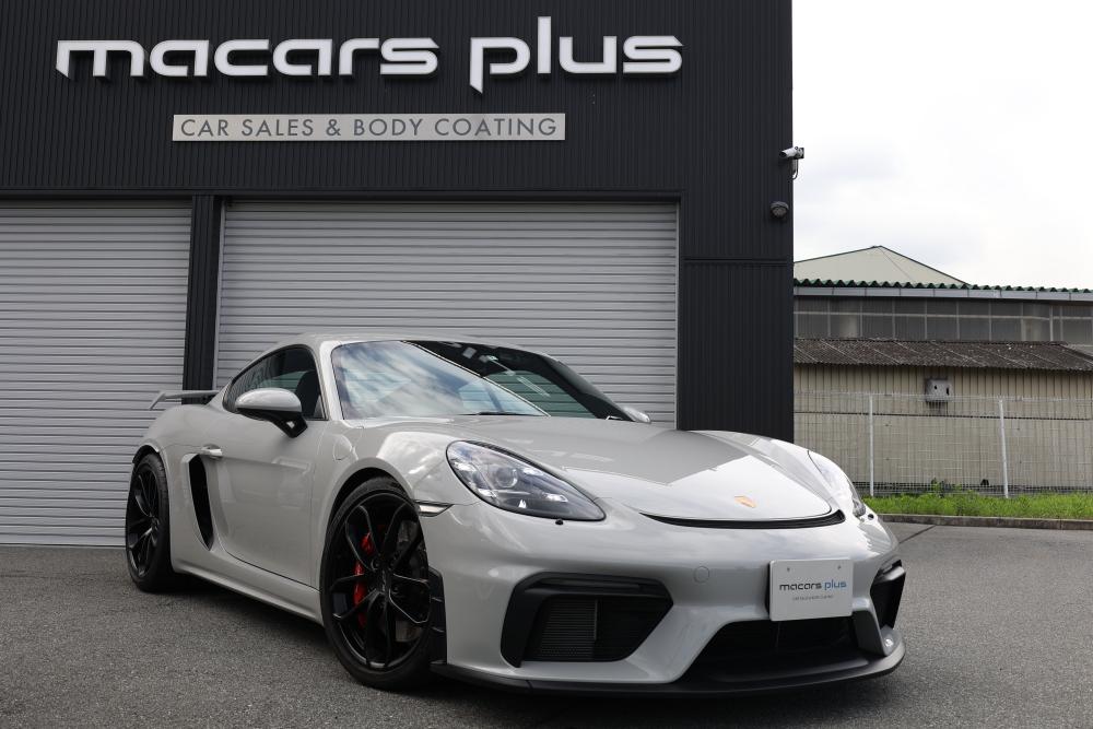 Porsche 718/Cayman GT4 & 新着入庫車輛!!