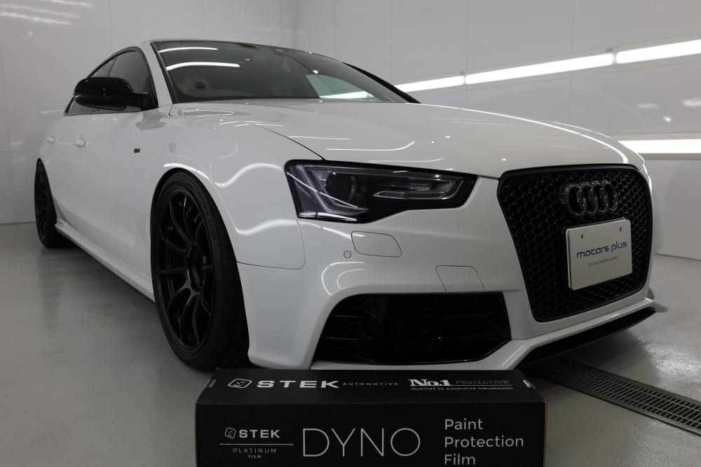 Audi A5/B8.5 SB & STEKペイントプロテクション・フィルム施工+祝納車!!
