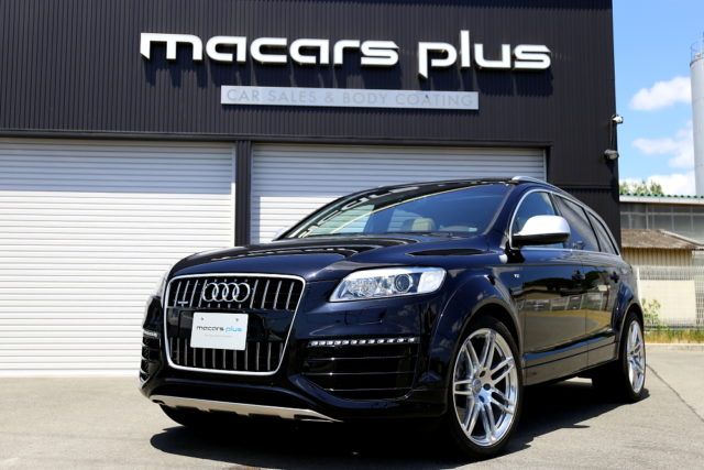 Audi Q7/V12TDI & 祝納車!!